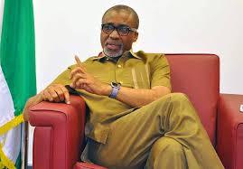 Nigerian Senate Minority Leader, Senator Enyinnaya Abaribe (PDP) at 66