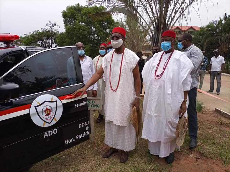 Onitsha Ado Community Launches A New Vigilante Security Outfit (Photos) - 9News Nigeria