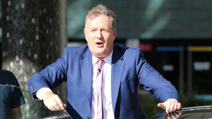 Piers Morgan and Susanna Reid are seen in London - 7/2/19