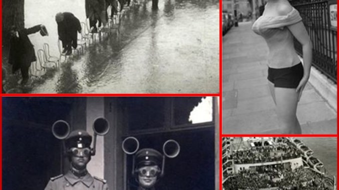 Rare Historical Images - Bizarre Moments From The Past Captured On Camera