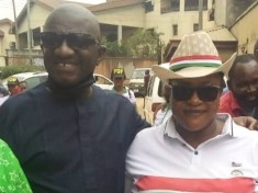 Dr Winston Udeh storms Onitsha North LGA today to interface with the PDP delegates