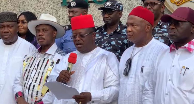 'EBUBE AGU'- South-East Governors Establish New Security Outfit To Tackle Rising Insecurity In The Region - Imo State - 9News Nigeria