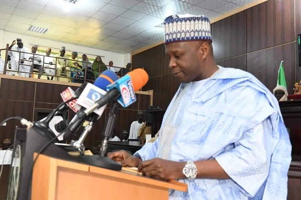 Executive Governor of Gomber State Muhammad Inuwa Yahaya