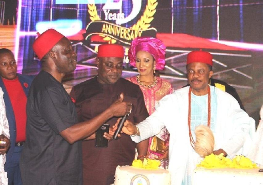 Governor Obiano and Prof Chukwuma Soludo