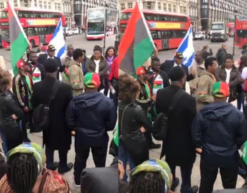 IPOB IN LONDON