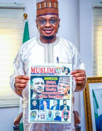 ISA PANTAMI AWARDED NIGERIAN MUSLIM PERSONALITY OF THE YEAR 2020 -