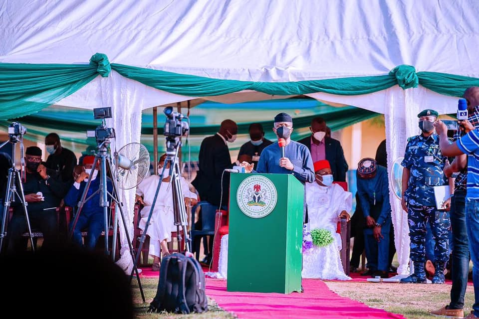 NO ILLUSIONS, WE 'LL ENSURE JUSTICE FOR VICTIMS, BEEF UP SECURITY, SAYS OSINBAJO