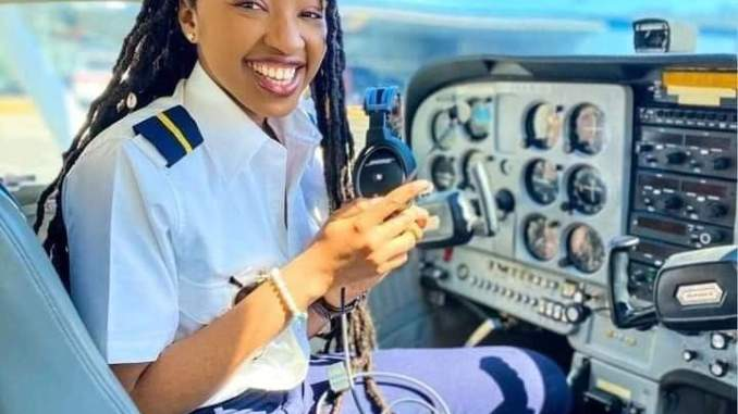 Nigeria Miracle Izuchukwu sparks the pilot trainer world with American Airlines