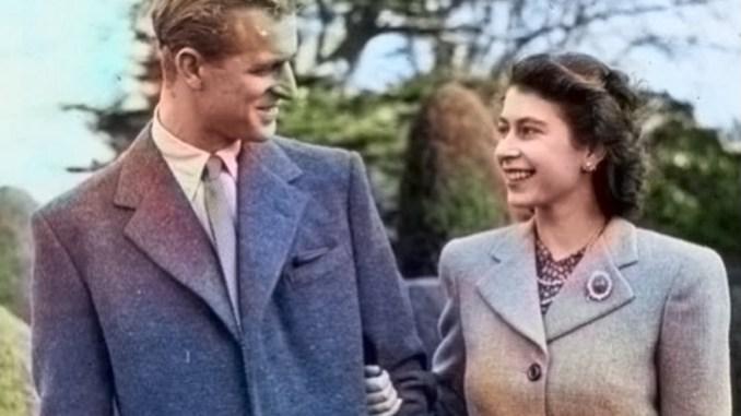 Prince Phillip and Queen Elizabeth II