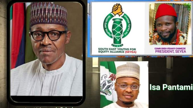 SOUTH-EAST YOUTHS FOR EQUITY ALLIANCE (SEYEA) SENDS SOS TO PRESIDENT BUHARI, DSS AND NIA
