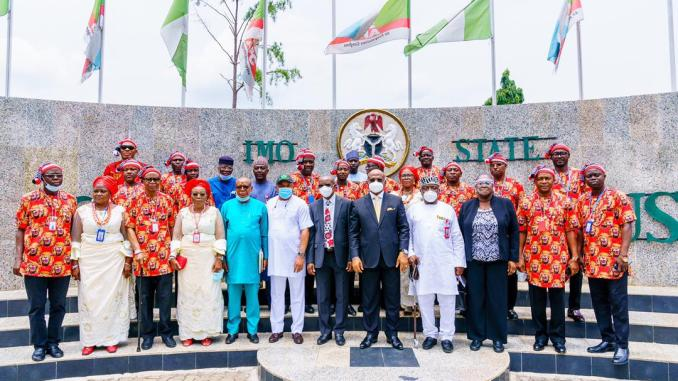 Security experts storm Imo state for a one week tour of the state