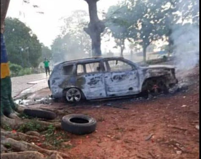 Unknown gunmen attacked Zone 13 Police headquarters in Anambra State