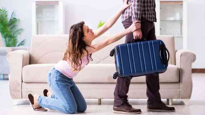 Before you leave your wife