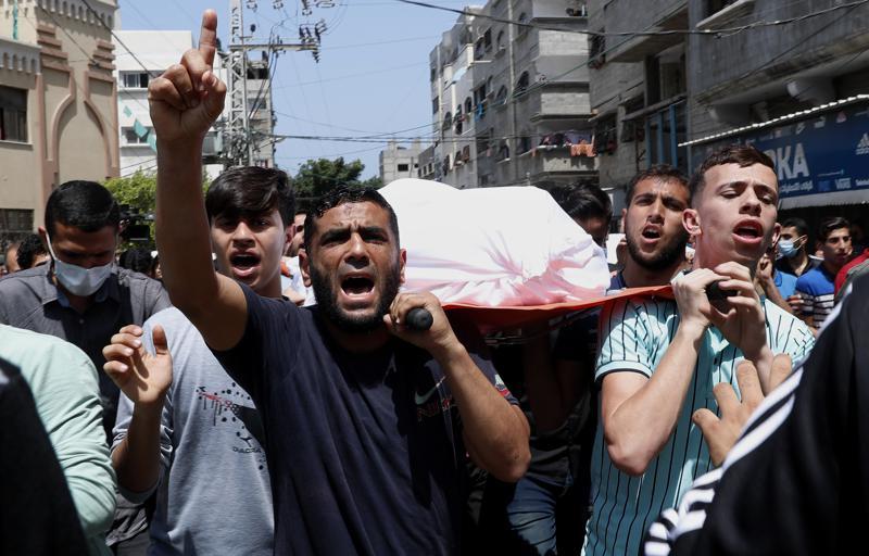 HAMAS Palestine Militants Hit Rockets on Isreal, killing Many --