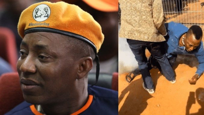 Omoyele Sowore Shot By Police in Abuja