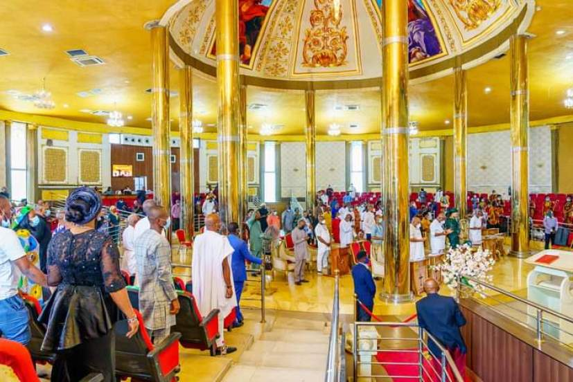 The church service held at the Victory Chapel, bank road, Imo State Government House, Owerr