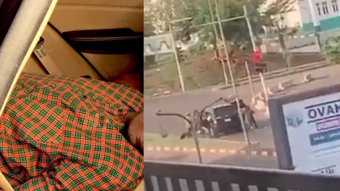 VIDEO OF A FORMER HIGH COURT JUDGE STANLEY NNAJI REPORTEDLY SHOT DEAD IN ENUGU STATE (VIDEO)