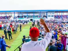 GOVERNOR HOPE UZODIMMA FLAGS OFF N4BILLION IMO YOUTH EMPOWERMENT PROGRAM