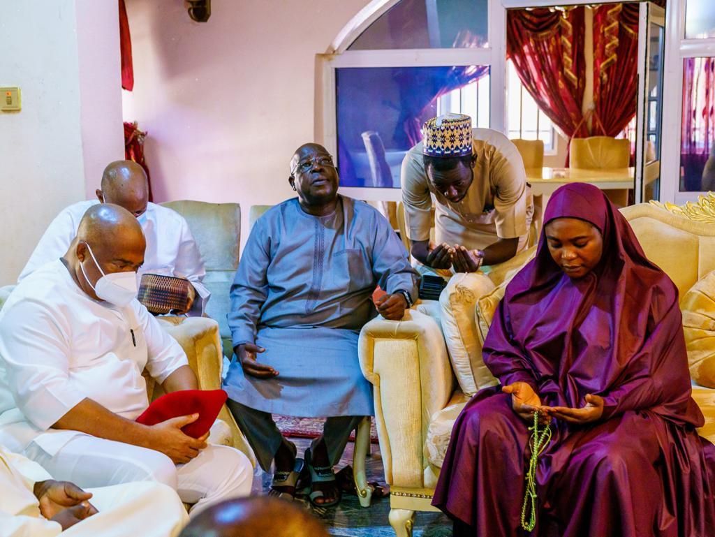 GOVERNOR HOPE UZODIMMA PAYS CONDOLENCE TO LATE AHMED GULAK'S FAMILY