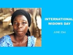 INTERNATIONAL WIDOWS DAY JUNE 23