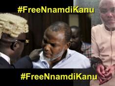 #FreeNnamdiKanu Free Nnamdi Kanu Now