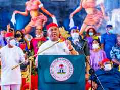 GOVERNOR UZODINMA PLEDGES TO WORK FOR THE GREATER GOOD OF IMOLITES