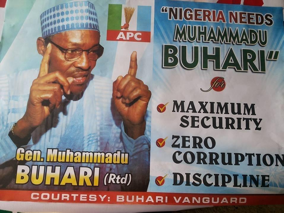 General Muhammadu Buhari Campaign Promises