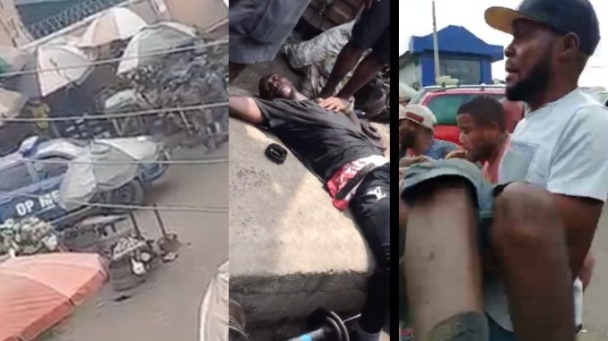 How Men of The Nigerian Military Opened Fire On Crowded Ladipo Market Killing Two Igbo Traders