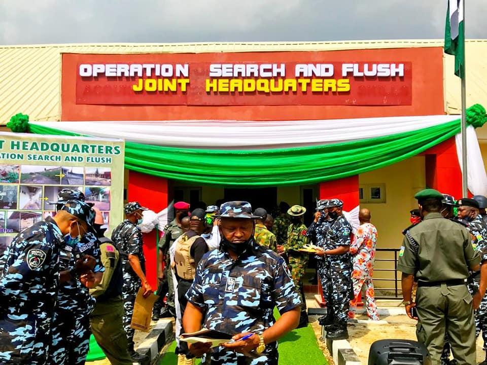 UZODINMA PAID CONDOLENCES TO NIGERIAN ARMY 34-ARTILLERY BRIGADE OBINZE AND THE NIGERIAN AIRFORCE 211 QUICK RESPONSE TEAM NAZE