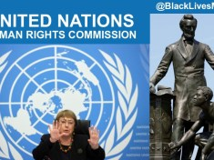United Nations Human Rights Commission and Black Lives Matter End Slavery Now