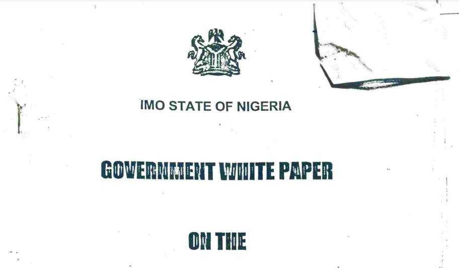 281-PAGE LIST OF PROPERTIES AS COURT ORDERS FINAL FORFEITURE OF ALL PROPERTIES GAZETTED IN IMO STATE WHITE PAPER