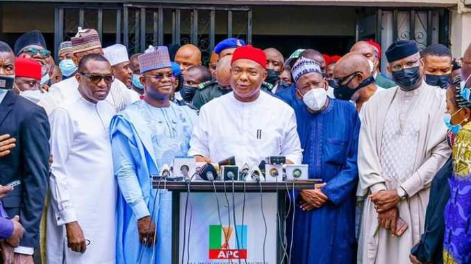 GOV. UZODIMMA LEADS APC NATIONAL CAMPAIGN COUNCIL FOR ANAMBRA 2021 GUBER ELECTION
