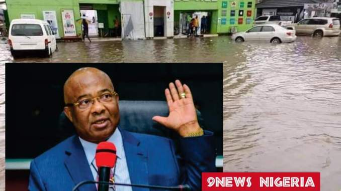 STATE OF IMO ROADS- GOVERNOR UZODINMA IS NOT THE CAUSE OF FLOODING IN OWERRI