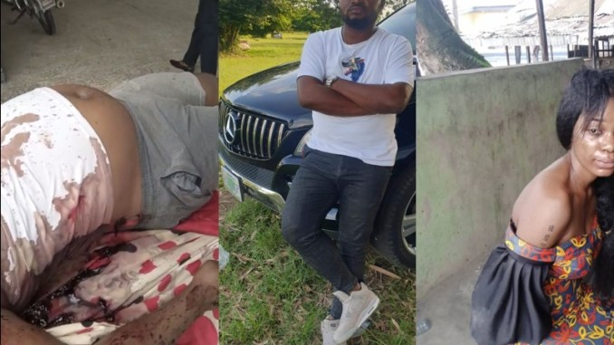 Video Shows How a Side Chick Killed A Married Businessman In His Apartment And Made Away With His New Mercedes Benz 4matic and Millions of Naira
