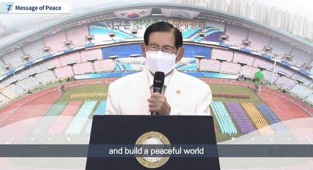 Chairman Man Hee Lee of HWPL Calling for Concerted Action to Build a Peaceful World