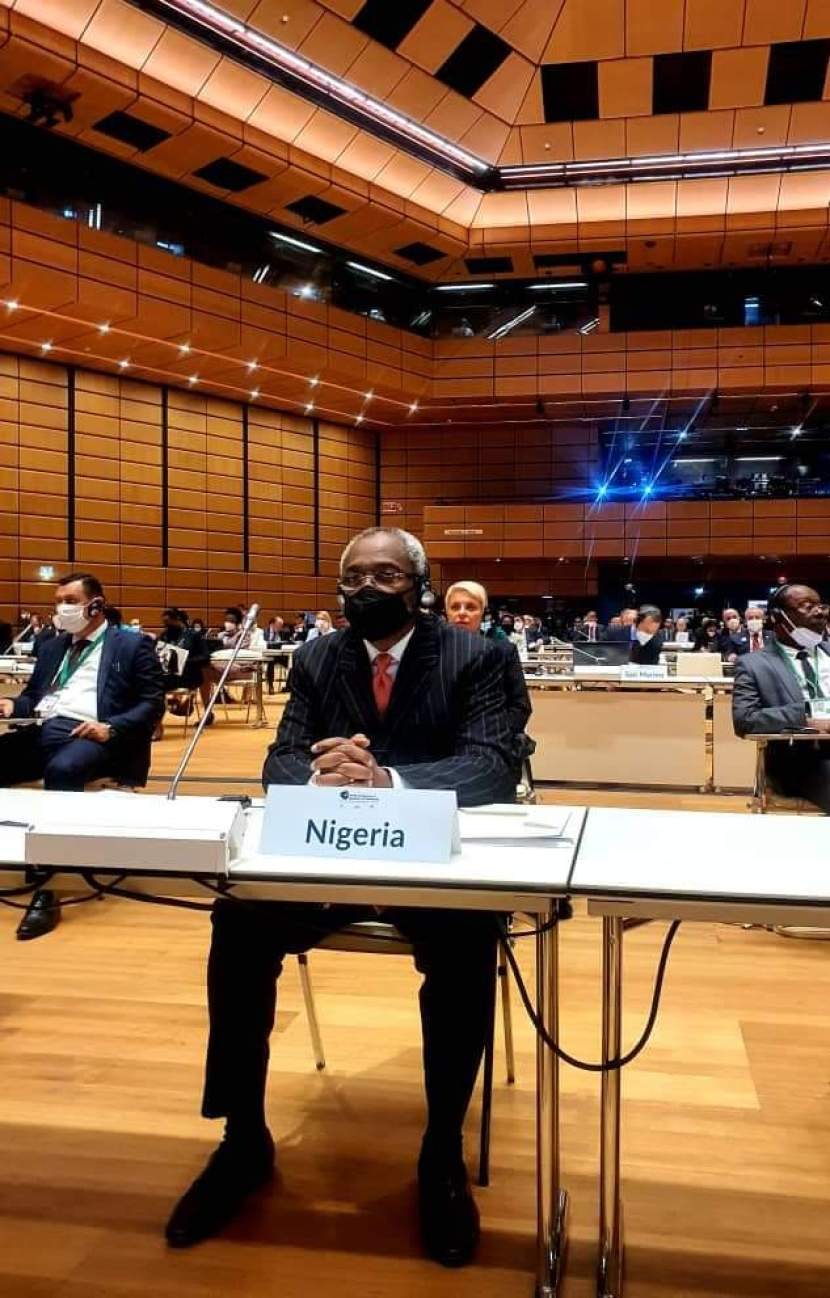 FIFTH WORLD CONFERENCE OF SPEAKERS OF PARLIAMENT HOLDS IN VIENNA, AUSTRIA