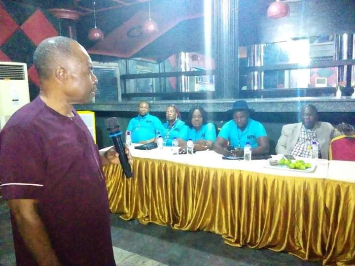 IMO NEWSPAPER PUBLISHERS ELECT NEW EXCOS