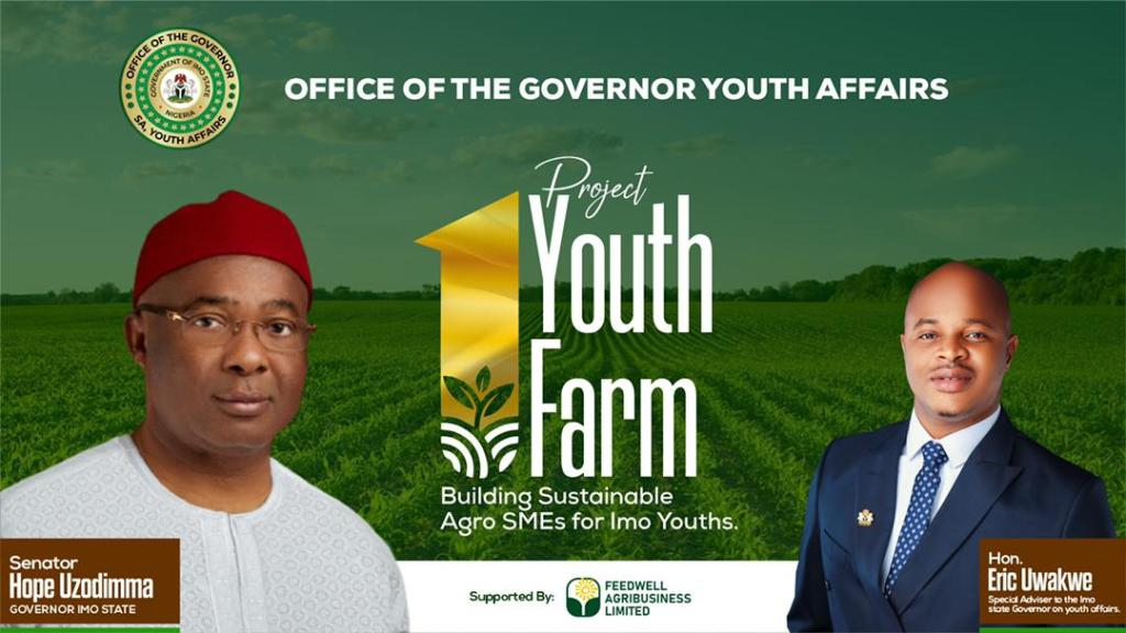 Imo state government to kickstart Agro-Based masterclass for Imo Youths from 4th to 9th October 2021