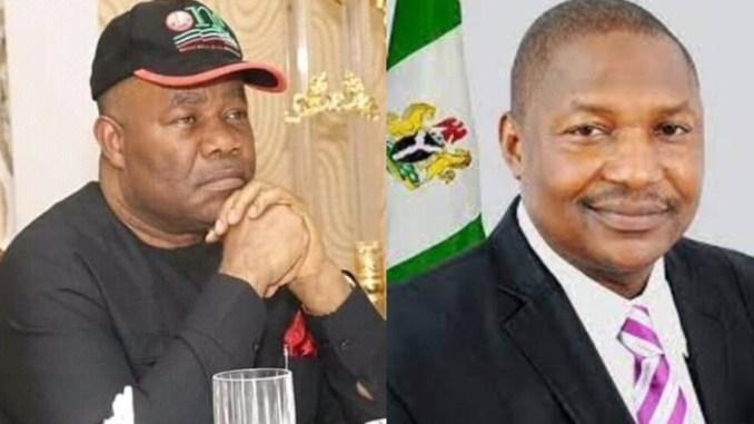 NDDC: Godswill Akpabio and Justice Abubakar Malami