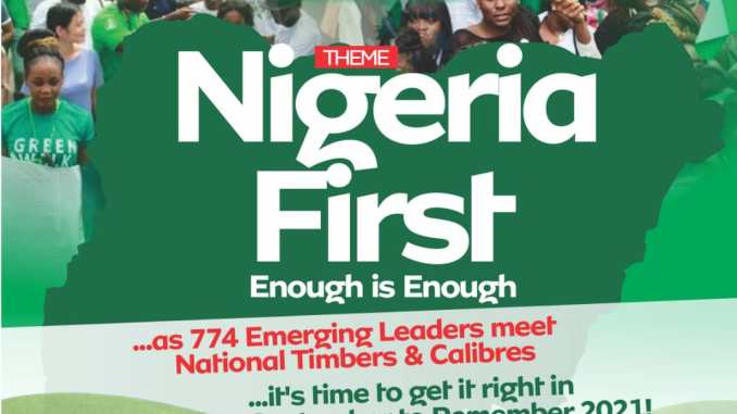 NIGERIA'S EMERGING LEADERS CALL FOR NATIONAL YOUTH CONFAB OVER INSECURITY, DISUNITY, OTHERS