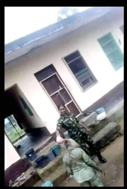 Nigerian Army reacts over officer dehumanizing female NYSC member in camp