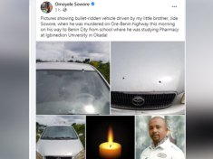 OMOYELE SOWORE MOURNS YOUNGER BROTHER, JIDE SOWORE WHO WAS SHOT AND KILLED BY UKNOWN ASSAILANTS