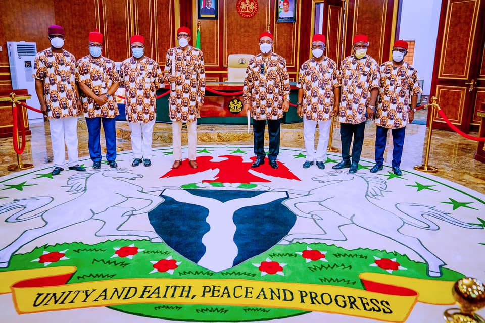 President Buhari visits Imo State, Commissions State Projects and meets with South East Leaders on 9th Sep 2021