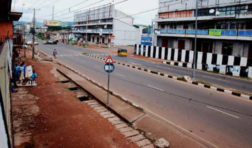 In previous months, Roads in Ebonyi State were deserted during IPOB Sit At Home order