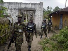 Nigerian Soldiers in Imo State
