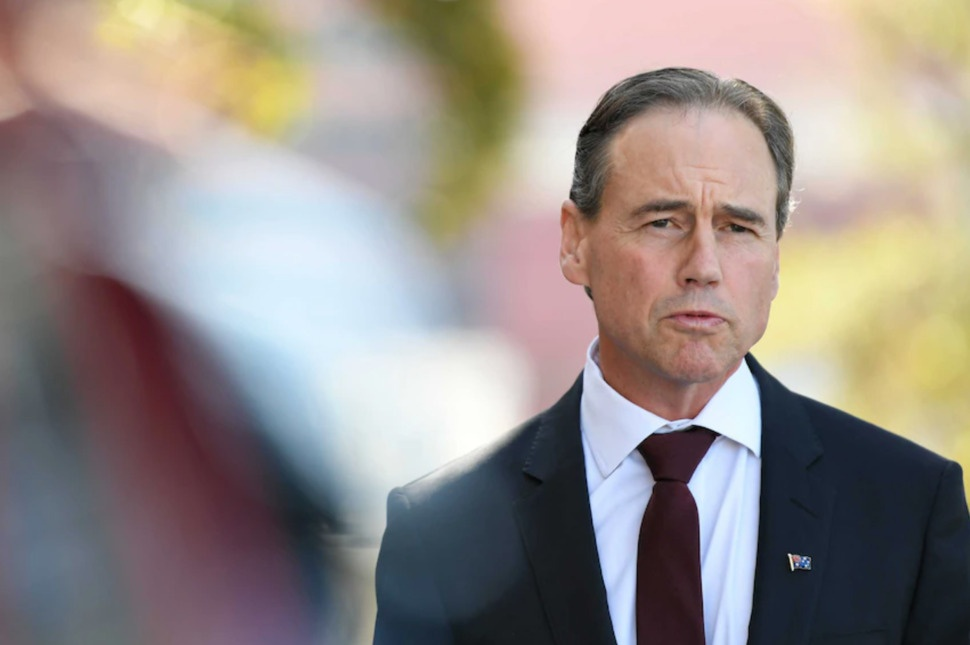 The states and territories have called on Greg Hunt to provide additional health funding.(AAP: James Ross)