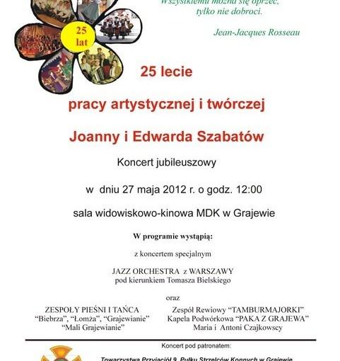 27.05.2012 r. – Jubileusz 25-lecia