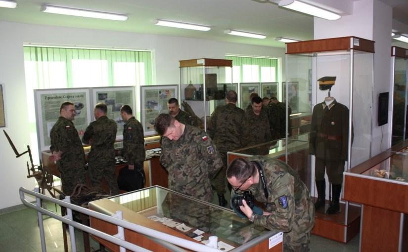 17.04.2014 r. – wizyta kadry oficerskiej 15 GBZmech.