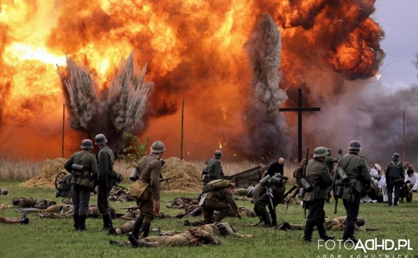 """20.09.2015 r. – Rekonstrukcja """"Bitwy pod Łomiankami"""""""