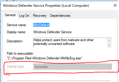 Startup-type-Services-Windows